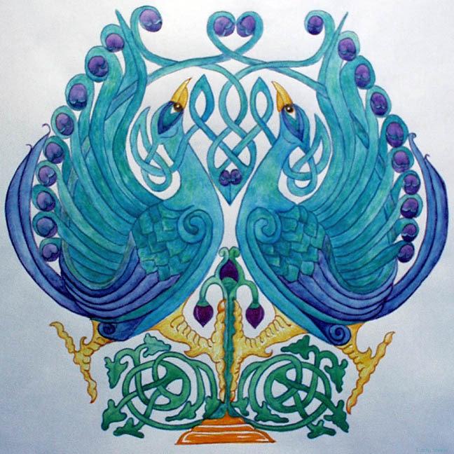 Celtic Peacocks