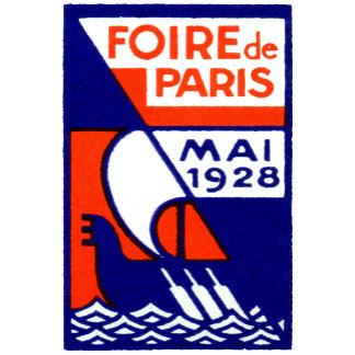 1928 Paris France Fair Poster