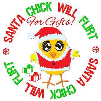 Santa Chick Will Flirt For Gifts v1