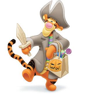 Tigger in Pirate Costume