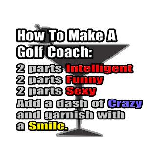 How To Make a Golf Coach