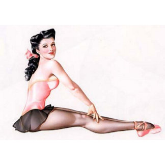 Ballerina Pin-Up