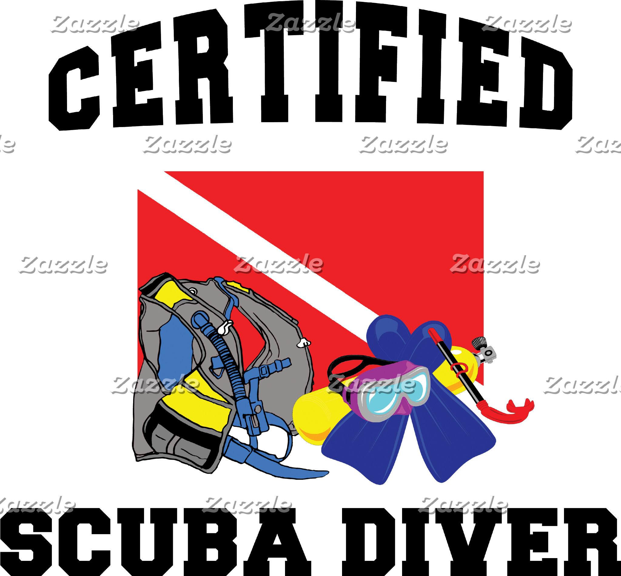 Certified SCUBA Diver T-Shirt Gift