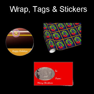 Wrap, Tags, Stickers