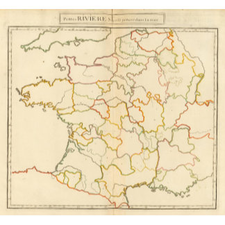 Small French Rivers Outline