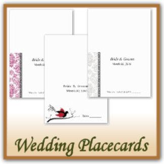 Wedding Reception Placecards