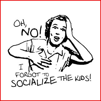 I Forgot the Socialization!