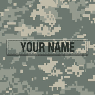 Army ACU Camouflage Customizable