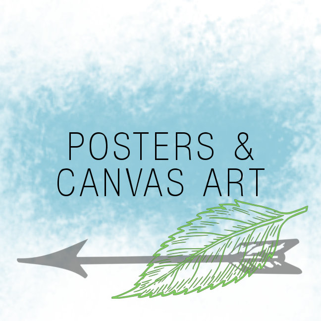 POSTERS AND CANVAS ART