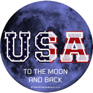 USA to the moon and back