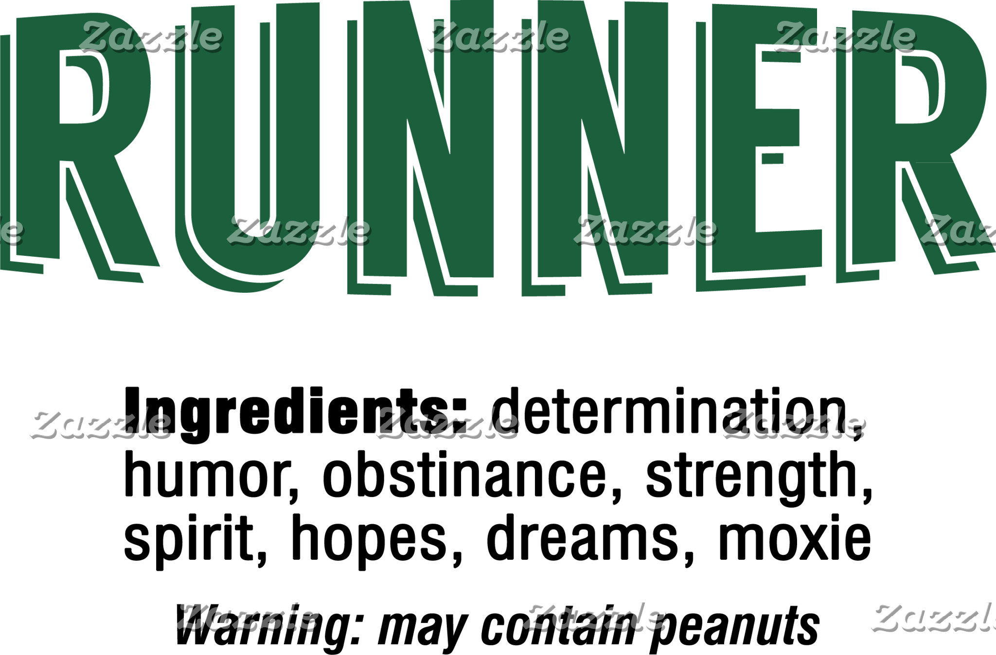 Runner Ingredients