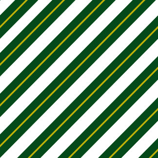 Green and Gold Stripes