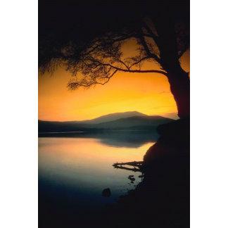 Peaceful Lake Sunset