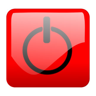 Shut Down Button Symbol