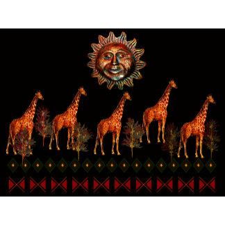 Kwanzaa Giraffes