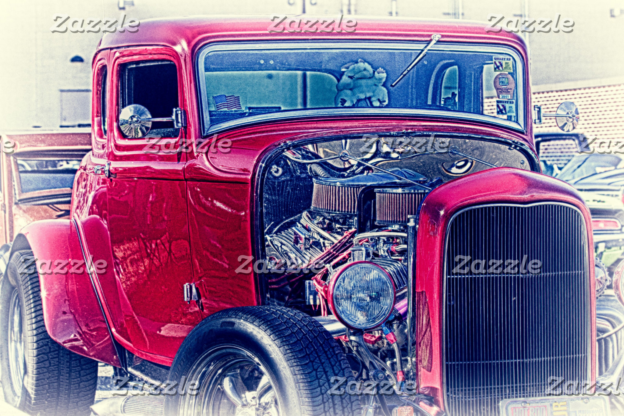 """Hot Rod"" ""Custom Car"" ""Classic Car"" ""Vintage Car"""