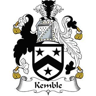 Kemble Family Crest