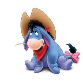 Eeyore in Cowboy Costume