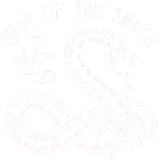 Year Of The Snake - White