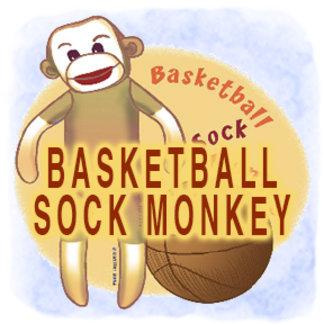 Basketball Sock Monkey