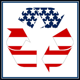 USA Recycle Symbol