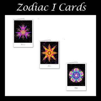Zodiac Cards I