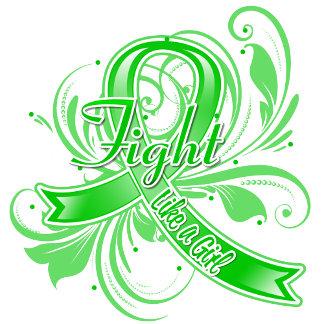 Cerebral Palsy Fight Like a Girl Flourish