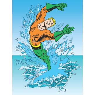 Aquaman Jumps Out of Sea