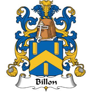 Billon Family Crest
