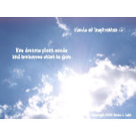 Real cloud New dreams plant seeds and treasures st