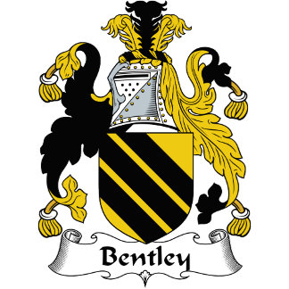 Bentley Family Crest / Coat of Arms