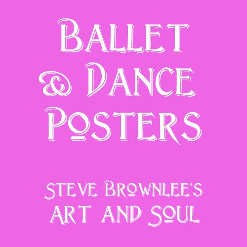 Ballet and Dance Posters