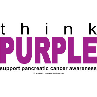 Think PURPLE Pancreatic Cancer