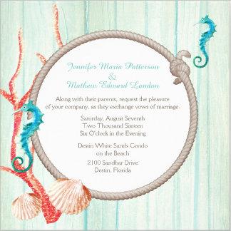 Seaside Cottage Chic Wedding Set