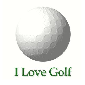 I Love Golf Design