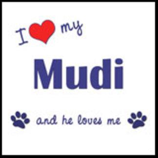 I Love My Mudi (Male Dog)