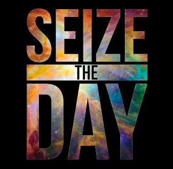 Seize the Day Black