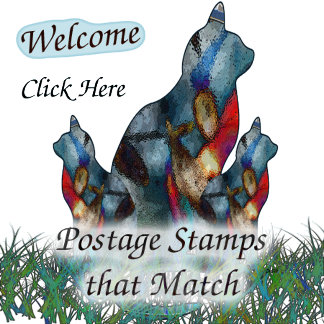 Postage Stamps that Match