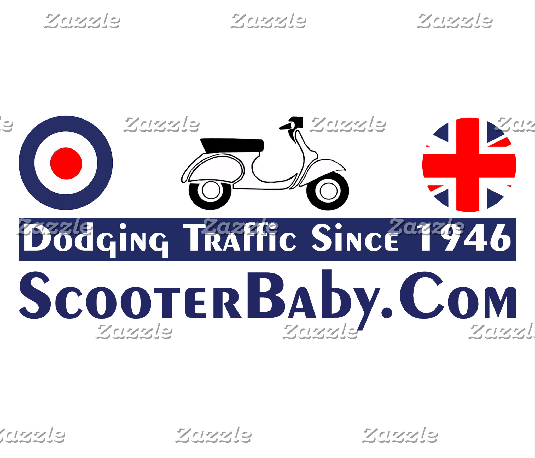 Traffic Dodging Scooter Baby