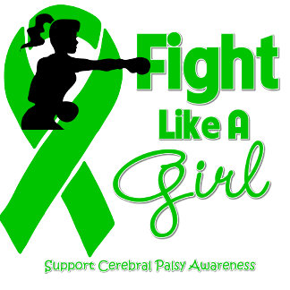 Cerebral Palsy Fight Like A Girl Knock Out