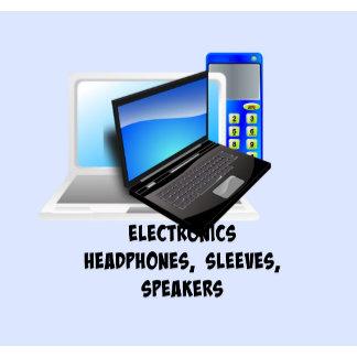 ELECTRONICS: Headphones, Sleeves, Speakers
