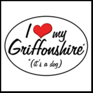 It's a Dog! I Love My Griffonshire