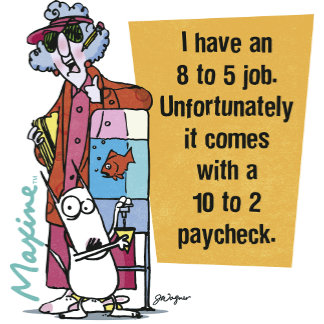 Maxine 8 to 5 Job