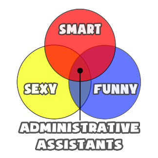 Venn Diagram .. Administrative Assistants