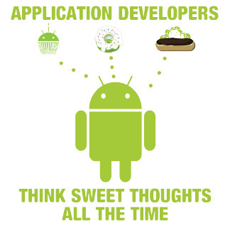 Application Developers Think Sweet Thoughts All
