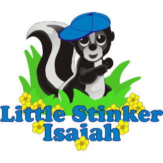 Little Stinker Isaiah Personalized