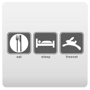 Eat Sleep Freenet