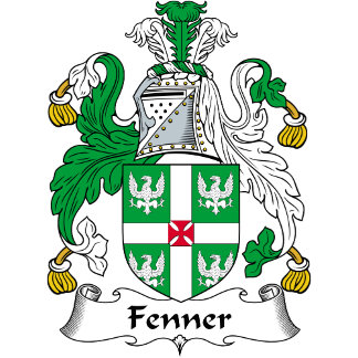 Fenner Family Crest / Coat of Arms