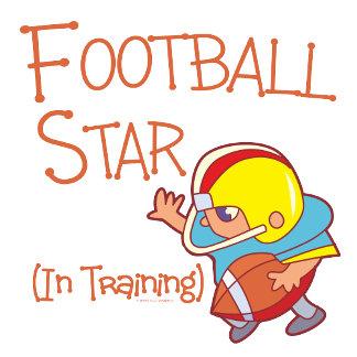 Kids Football Star In Training