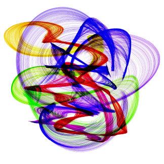 Colorful Swirls 124 items,